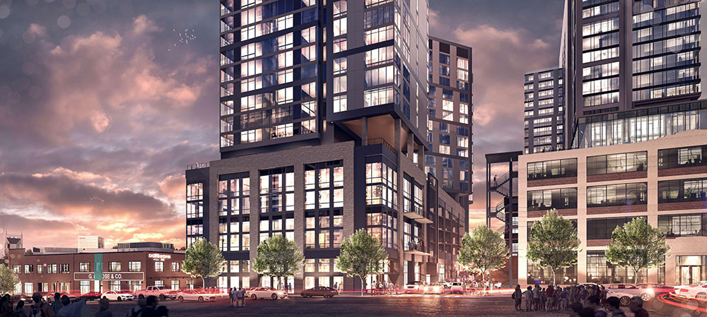 SomeraRoad to Develop $200M Paseo South Gulch Towers in Nashville