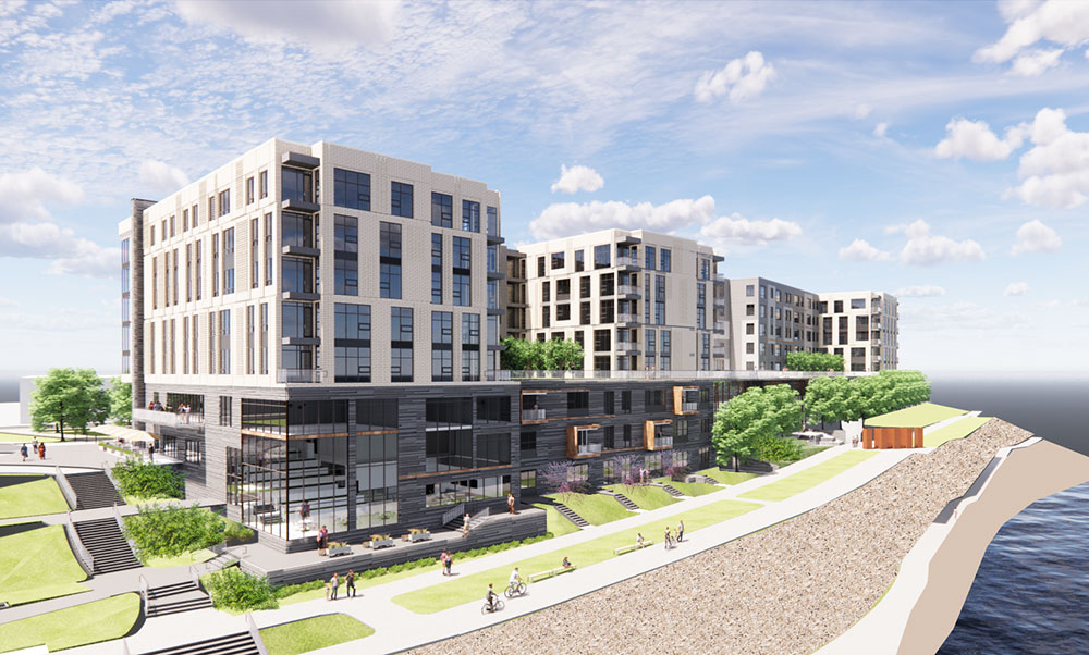 'A beacon and a landmark': Developer proposes 246-unit apartment complex at SouthSide Works