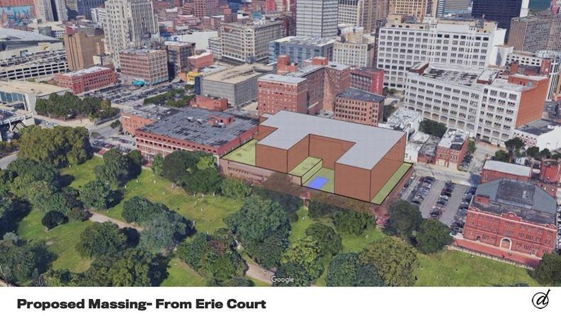 Developer proposes 200 apartments near Progressive Field