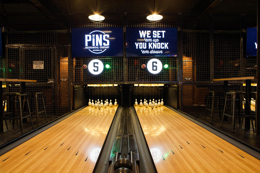 A carnival slide and duckpin bowling? Both are coming to SouthSide Works